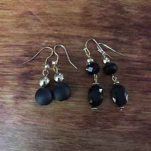 Black Earrings Bundle 1 (4 pair)